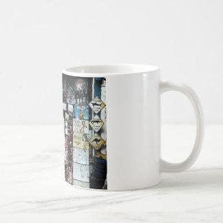 Gammalmodigt tecken kaffemugg