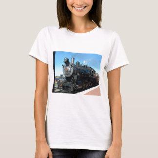 Gammalt ångatåg ett av en snäll fotofor tröja