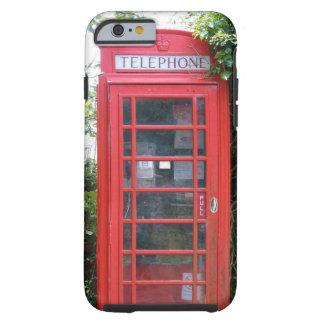 Gammalt engelskt rött ringer boxas tough iPhone 6 skal