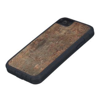 Gammalt lädertryck iPhone 5 Case-Mate fodral