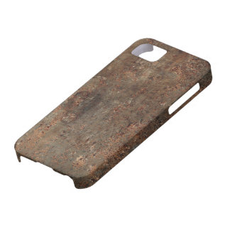 Gammalt lädertryck iPhone 5 fodral