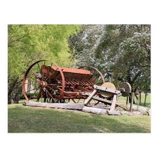 Gammalt lantgårdmaskineri, Australien Vykort