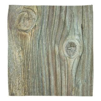 Gammalt lantligt trä bandana