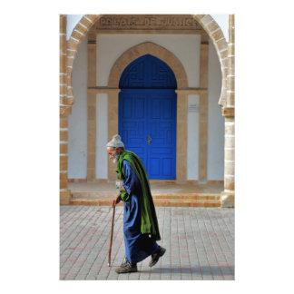 Gammalt marockanskt fototryck