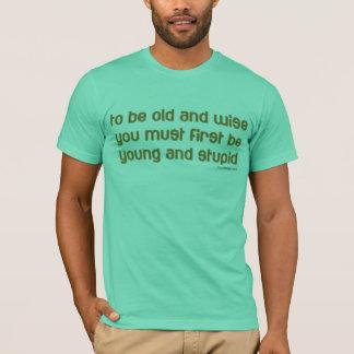 gammalt och klokt t-shirt