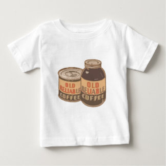gammalt pålitligt kaffe t-shirts