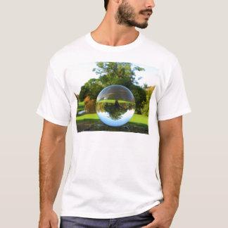 Gammalt parkera träd, kristallkula t shirts