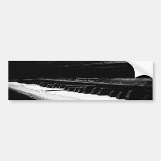 Gammalt piano bildekal