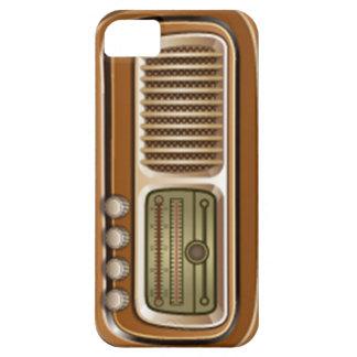 Gammalt radiosände iPhone 5 Case-Mate fodraler