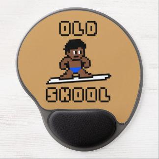 Gammalt Skool surfa (den brunbrända manlign, Blk) Gel Musmatta