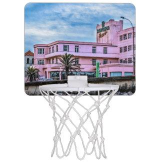 Gammalt stilstrandhotell, Montevideo, Uruguay Mini-Basketkorg