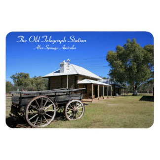 Gammalt telegrafera stationen, Alice Springs - Magnet
