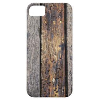 Gammalt träfodral för plankaiPhone 5 iPhone 5 Case-Mate Cases