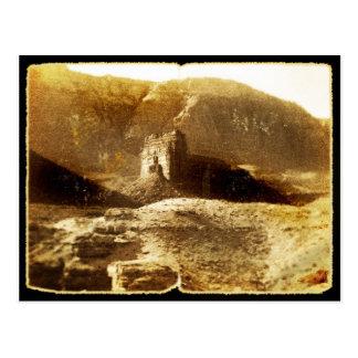 Gammalt vintagefoto vykort