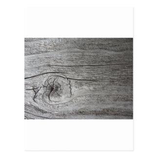Gammalt wood mönster vykort