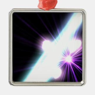 Gammastrålar i galaktisktt Nuclei 3 Julgransprydnad Metall
