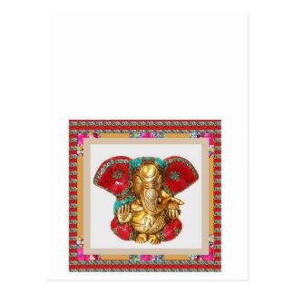 Ganapati Ganesh Vykort