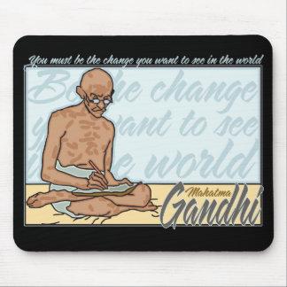 Gandhi är ändringscitationstecknet musmatta