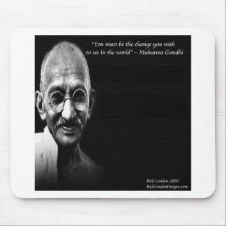 Gandhi är ändringsvishetcitationstecknet musmatta