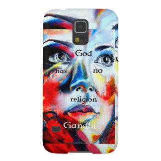 Gandhi har den andliga Quotationguden ingen Galaxy S5 Fodral