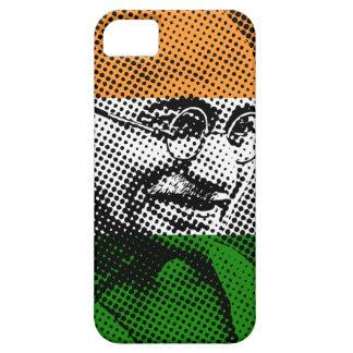 Gandhi + Indiskt fodral för flaggaiPhone 5C iPhone 5 Hud
