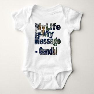 Gandhi Qoute Tee Shirt
