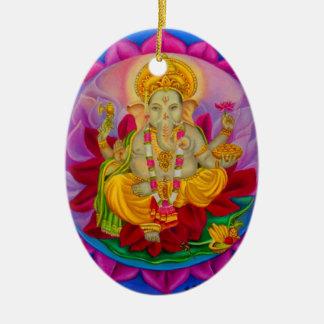 Ganesh Julgransprydnad Keramik