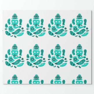 Ganesha Elepnat gud som slår in papper, 30 i x 6 Presentpapper