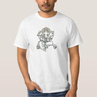 Ganesha hinduisk gudomgud tee shirt