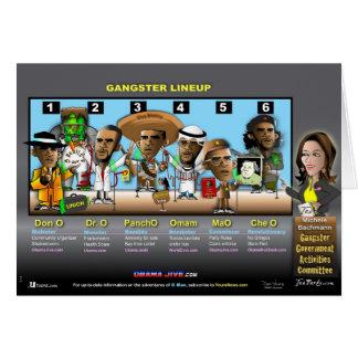 Gangsterregering Hälsningskort