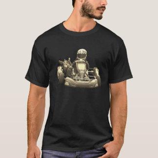 Går den Antiqued Kart raceren Tshirts