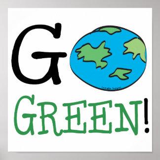 Går den gröna jorddagen poster