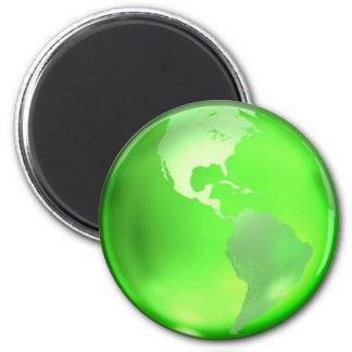Går den gröna magneten magnet rund 5.7 cm