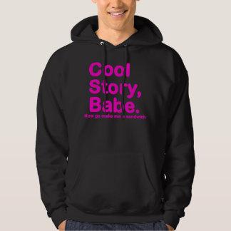 Går den kalla berättelsebaben för ORIGINAL nu gör Sweatshirt Med Luva