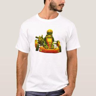 Går den Kart raceren i gult Tee Shirts