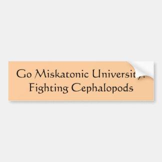 Går den Miskatonic universiteten! Bildekal