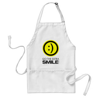 Går det extra leendet förkläde