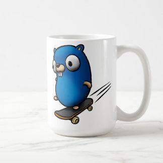 Går gopheren kaffemugg