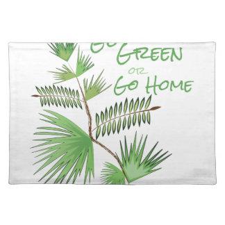 Går grönt bordstablett