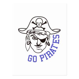 Går pirater vykort