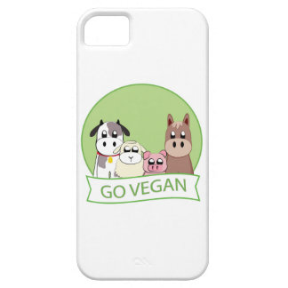 Går veganen iPhone 5 Case-Mate skal