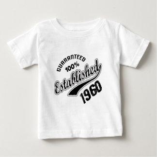 Garanterad 100% etablerad 1960 tshirts