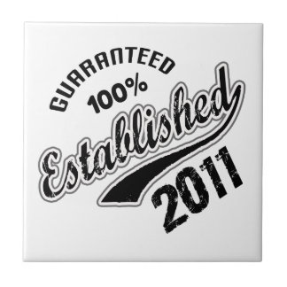 Garanterad 100% etablerad 2011 liten kakelplatta