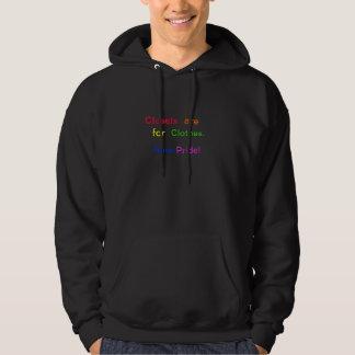 Garderober är för kläder. Ha pride! Sweatshirt Med Luva