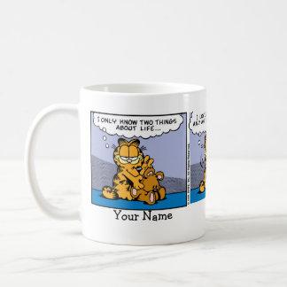 """Garfield """"älska för min nalle"""" den komiska remsan kaffemugg"""