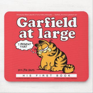 Garfield på stora Mousepad Musmatta