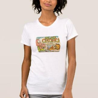 Garfield smäll, kvinna skjorta tee