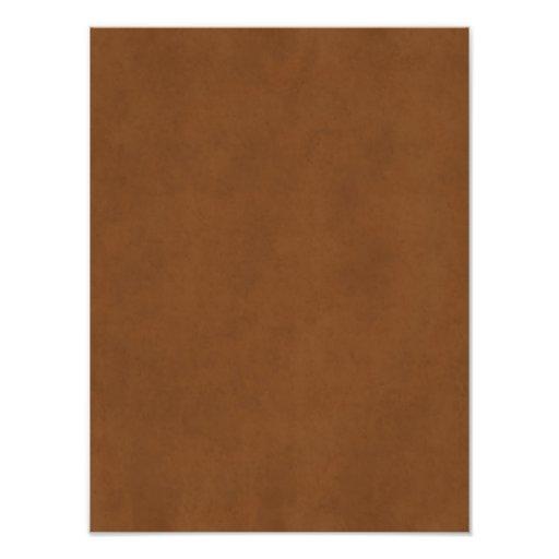 Garvat brunt Parchmentpapper Templ för vintage Fototryck