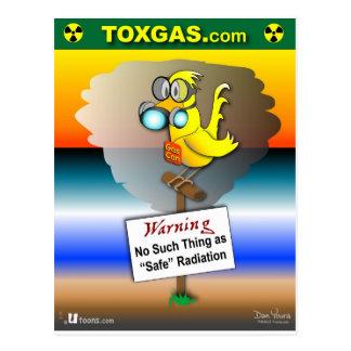Gas kan kanariefågeln vykort