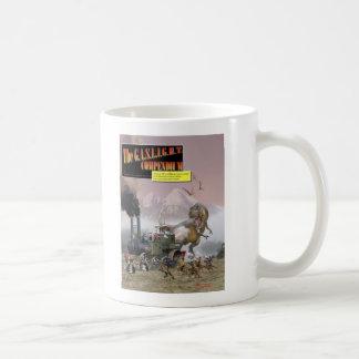 GASBELYSNINGEN täcker muggen Kaffemugg